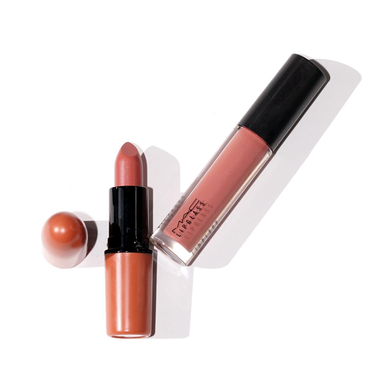 Rouge à lèvres MAC Velvet Teddy + Meilleur examen des échantillons de lipglass de nounours