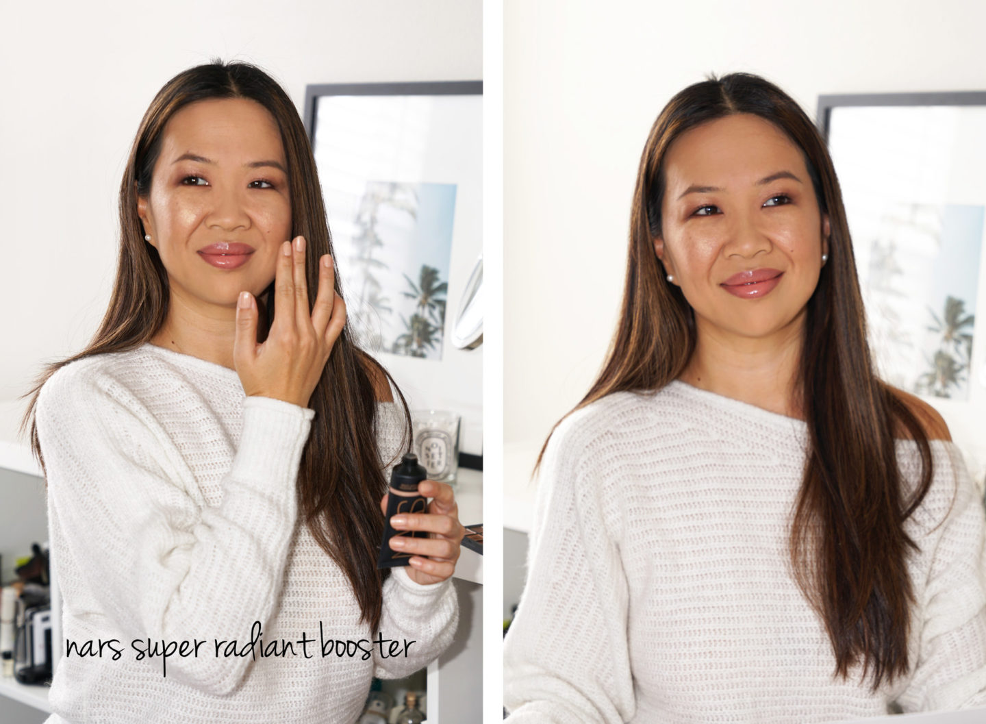 Look de maquillage NARS avec Super Radiant Booster | Le look book beauté
