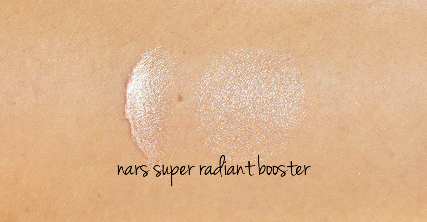 NARS Super Radiant Booster Swatches | Le look book beauté