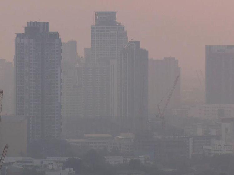 Les maladies respiratoires dans la capitale thaïlandaise sont en hausse depuis août
