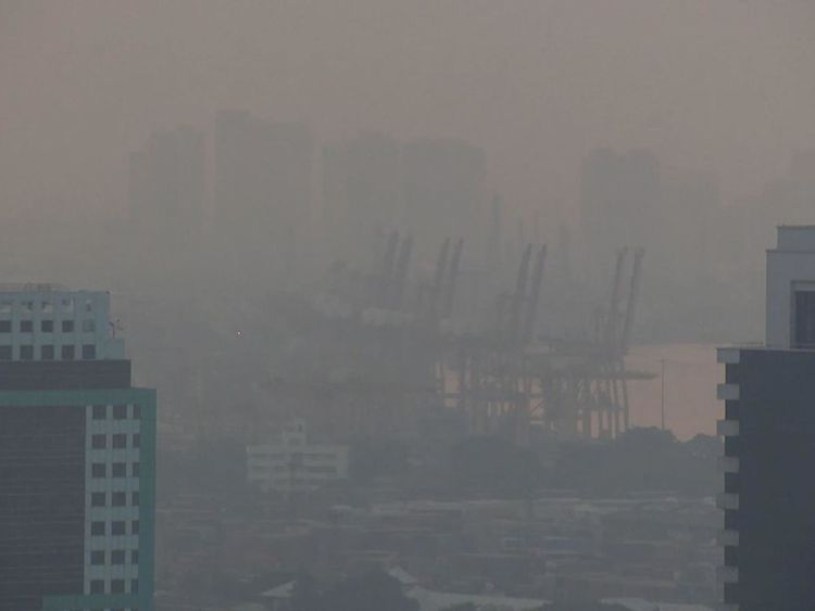 De plus en plus de gens souffrent d'asthme à cause du smog