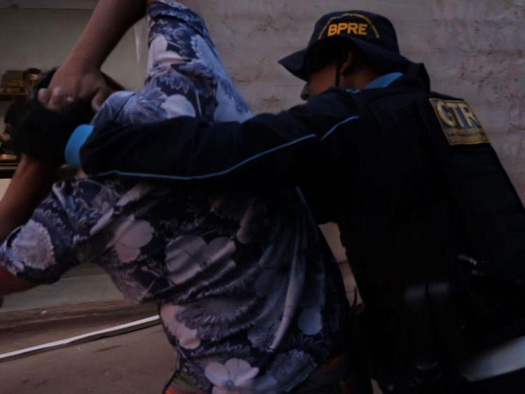 Une arrestation en cours à Fortaleza