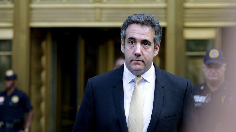 Michael Cohen aurait conclu un accord de plaidoyer avec l'équipe de Robert Mueller.