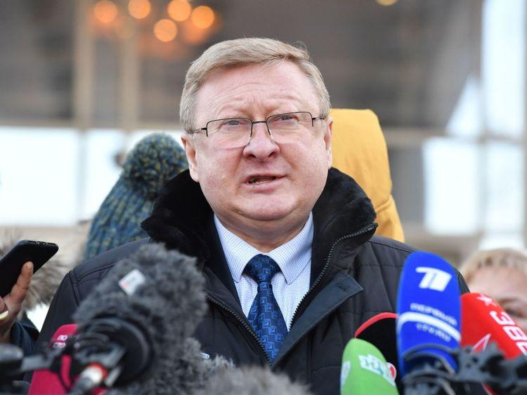 Vladimir Zherebenkov a déclaré que son client Paul Whelan s'était vu remettre un périphérique USB avant son arrestation