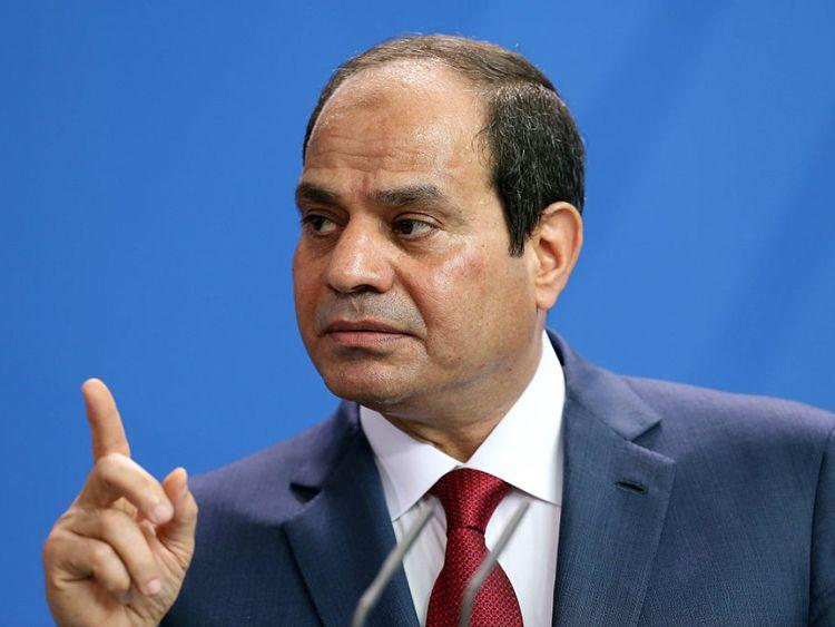 Le président égyptien Abdel Fattah el-Sisi s'est plaint du taux d'obésité de son pays