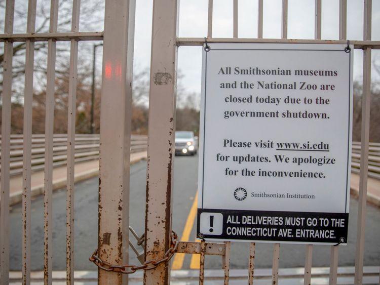 Le Smithsonian National Zoo est fermé au public alors que le gouvernement est partiellement à l'arrêt