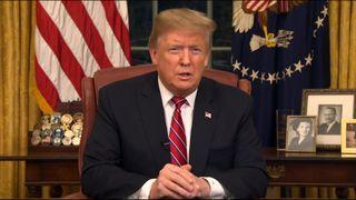 """Le président Trump s'adresse à la nation face à l'immigration et au mur frontalier """"srcset ="""" https://e3.365dm.com/19/01/320x180/skynews-trump-border_4541176.jpg?20190109020359 320w, https: //e3.365dm. com / 19/01 / 640x380 / skynews-trump-border_4541176.jpg? 20190109020359 640w, https://e3.365dm.com/19/01/736x414/skynews-trump-border_4541176.jpg?20190109020359 736w, https e3.365dm.com/19/01/992x558/skynews-trump-border_4541176.jpg?20190109020359 992w, https://e3.365dm.com/19/01/1096x616/skynews-trump-border_4541176.jpg?201901010359409 https://e3.365dm.com/19/01/1600x900/skynews-trump-border_4541176.jpg?20190109020359 1600w, https://e3.365dm.com/19/01/1920x1080/skynews-trump-border_4541176.jpg ? 20190109020359 1920w, https://e3.365dm.com/19/01/2048x1152/skynews-trump-border_4541176.jpg?20190109020359 2048w """"tailles ="""" (largeur minimale: 900px) 992px, 100vw"""