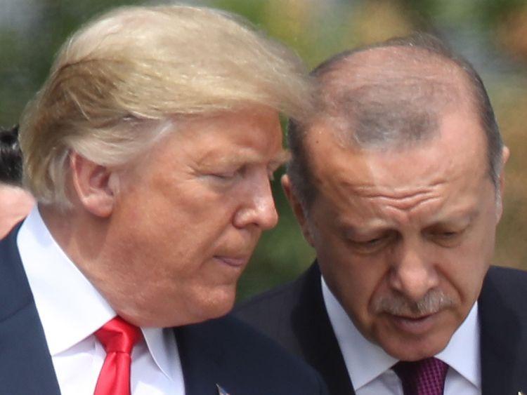 Le président Erdogan est l'un des rares à avoir soutenu la décision de Donald Trump en Syrie