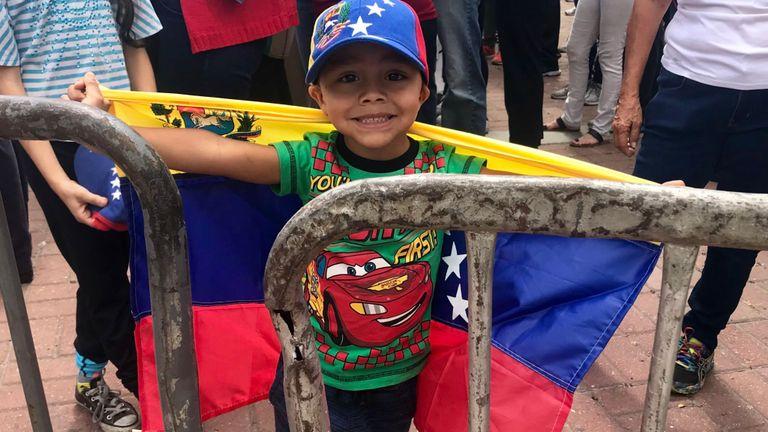 Un rassemblement au Venezuela