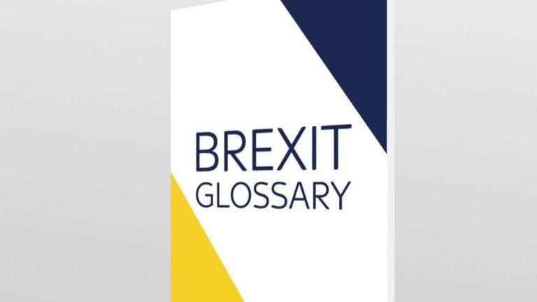 Glossaire du Brexit