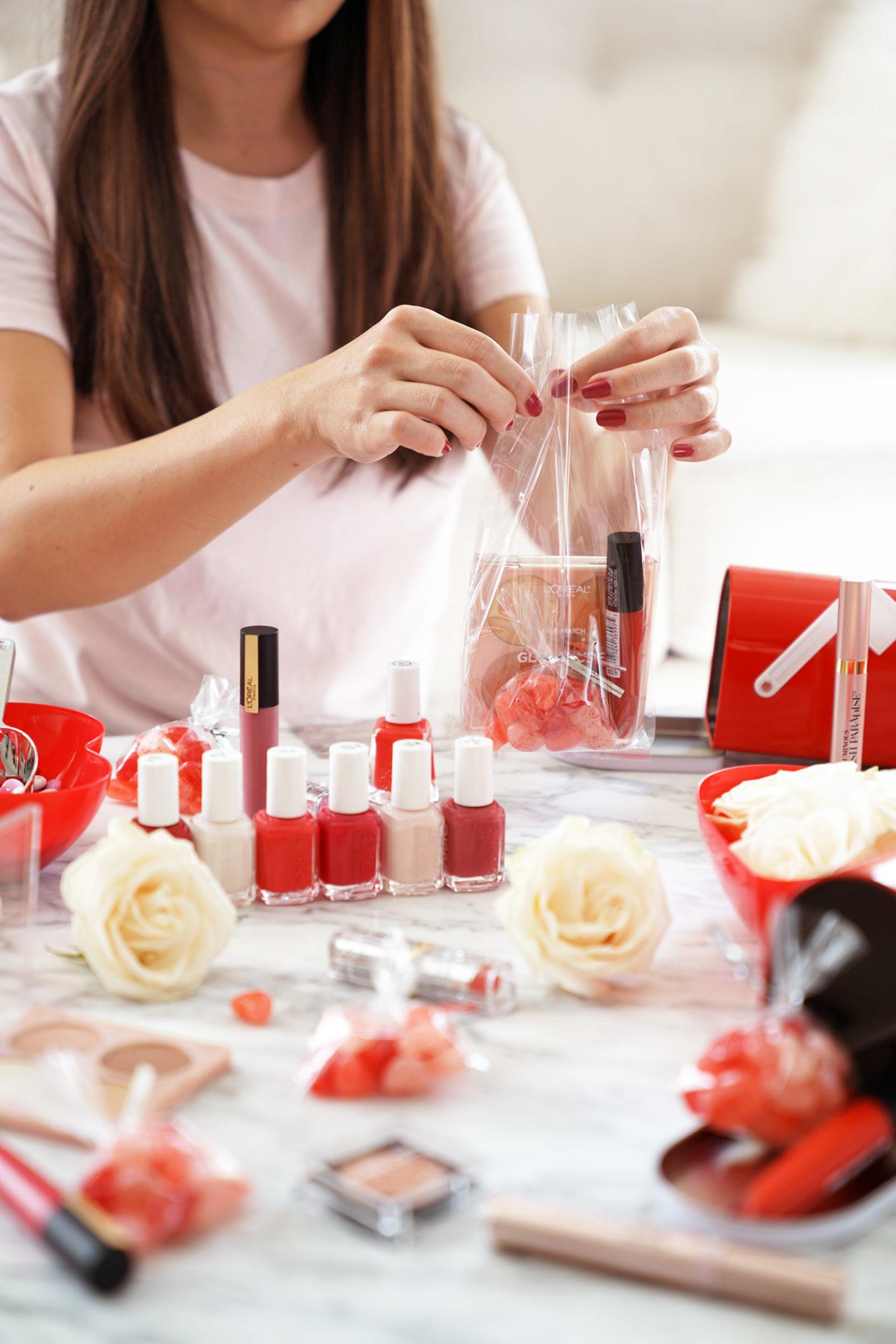 Idées de cadeaux de beauté budget bon marché de Galentine