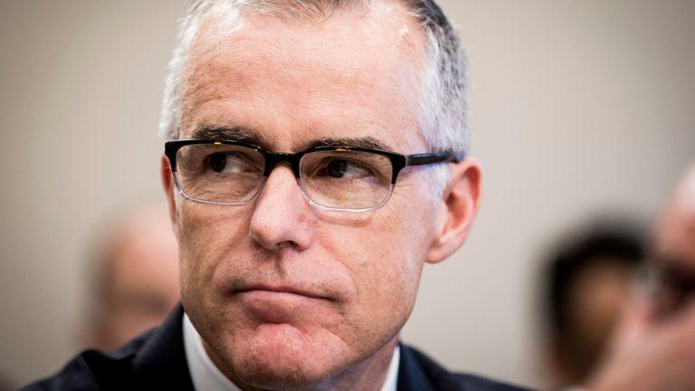 Andrew McCabe, ancien directeur par intérim du FBI