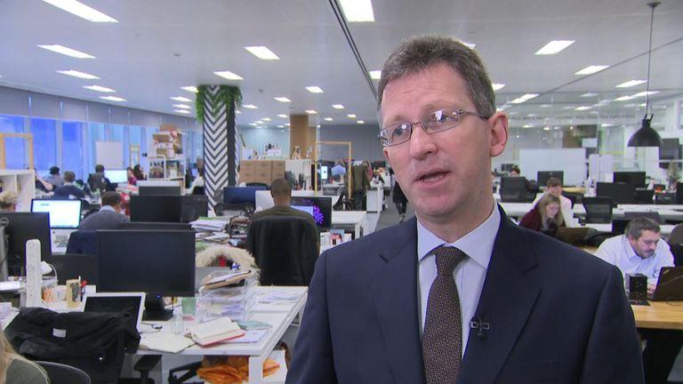 Entretien avec Jeremy Wright, secrétaire à la Culture, à propos de l'impact du Brexit sur le secteur des technologies. Manthorpe VT