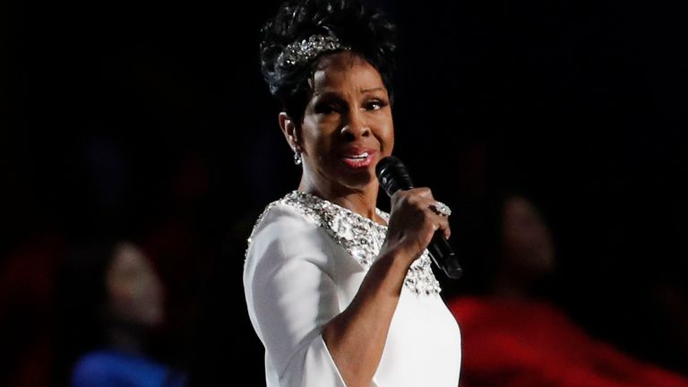 Gladys Knight a interprété l'hymne national américain