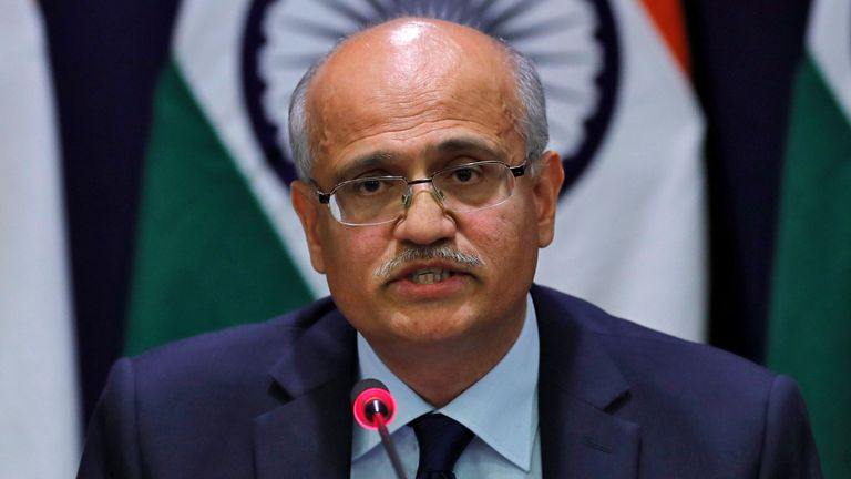 Le secrétaire aux Affaires étrangères de l'Inde, Vijay Gokhale, a déclaré que les terroristes avaient été éliminés.