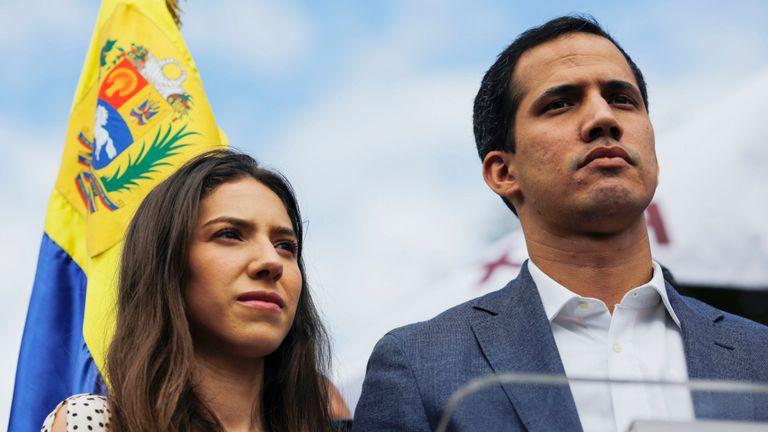 Juan Guaido pense que lui et sa femme Fabiana Rosales pourraient être en danger
