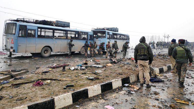 L'attaque était l'une des plus importantes sur les forces de sécurité indiennes au Cachemire