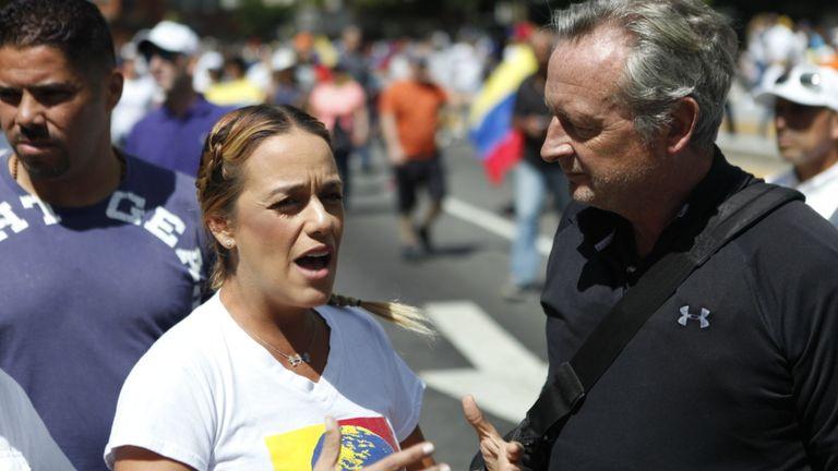 Lillian Tintori pense que le temps de M. Maduro est écoulé