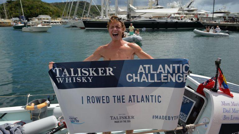 Lukas a déclaré qu'il espérait pouvoir inspirer les gens de tous âges à se lancer des défis. Pic: Campagnes Atlantique