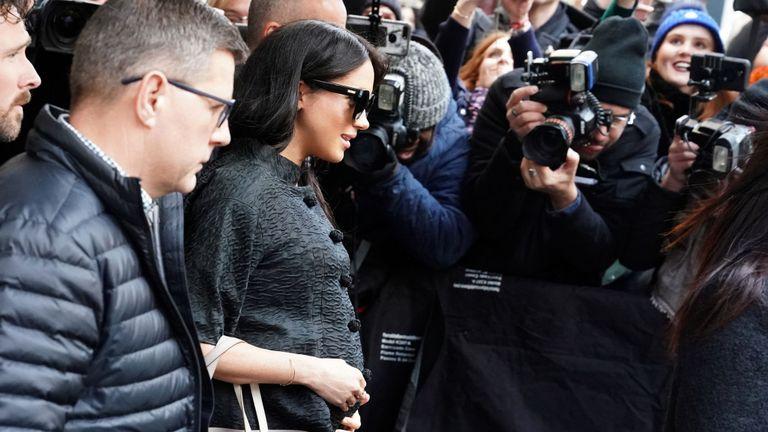 La duchesse de Sussex passe cinq jours à New York pour une visite discrète