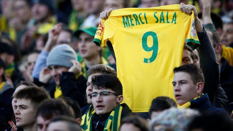 Nantes hommage à Sala