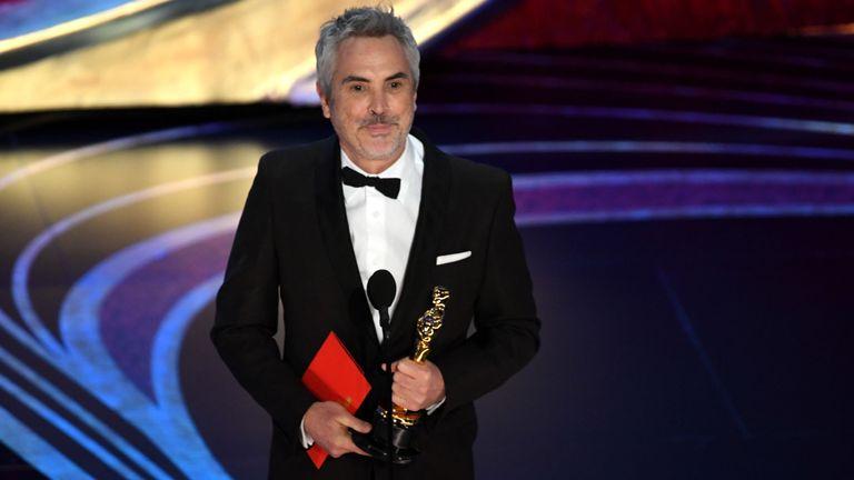Alfonso Cuaron a remporté plusieurs prix pour les Roms