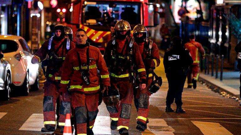 Environ 200 pompiers ont combattu l'incendie