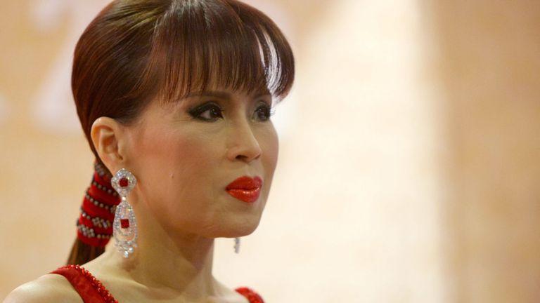 La royale sera candidate au parti thaïlandais Raksa Chart