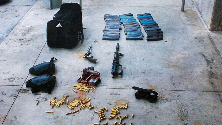 Le tireur aurait largué des munitions à la suite de la fusillade à Santa Monica en 2013