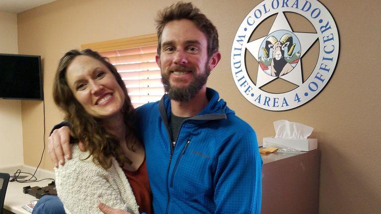 Travis Kauffman, un coureur de piste qui a combattu une attaque de lion de montagne