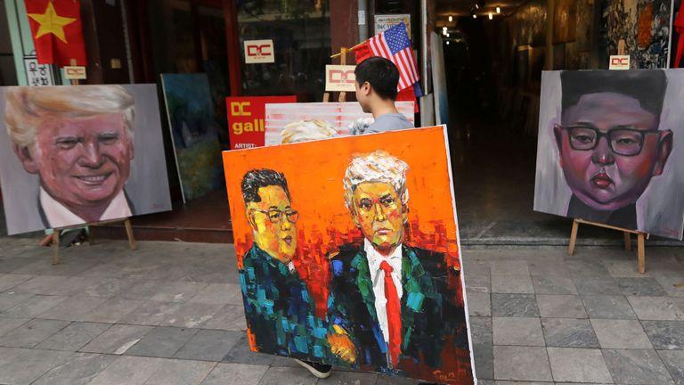 Les artistes ont été occupés à préparer le sommet de Hanoi