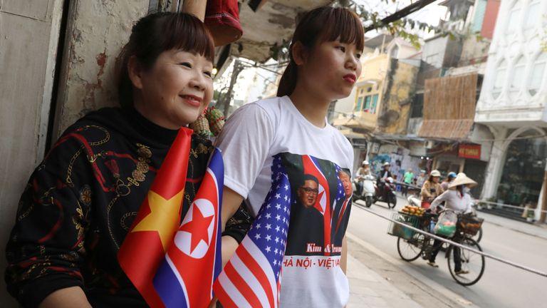 Il y a eu une atmosphère de carnaval dans la capitale vietnamienne