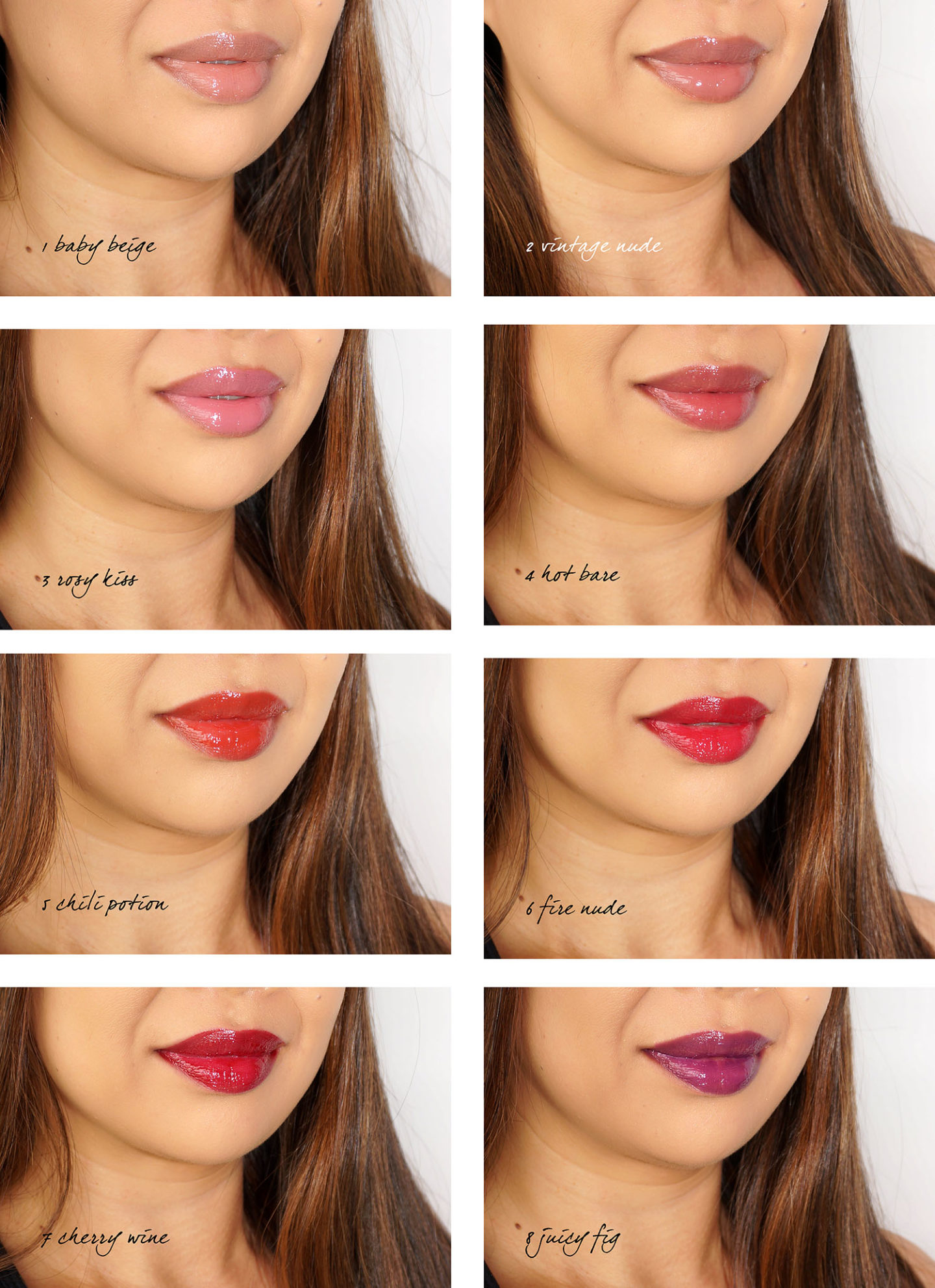 Par Terry Lip Expert Shine Lip swatches