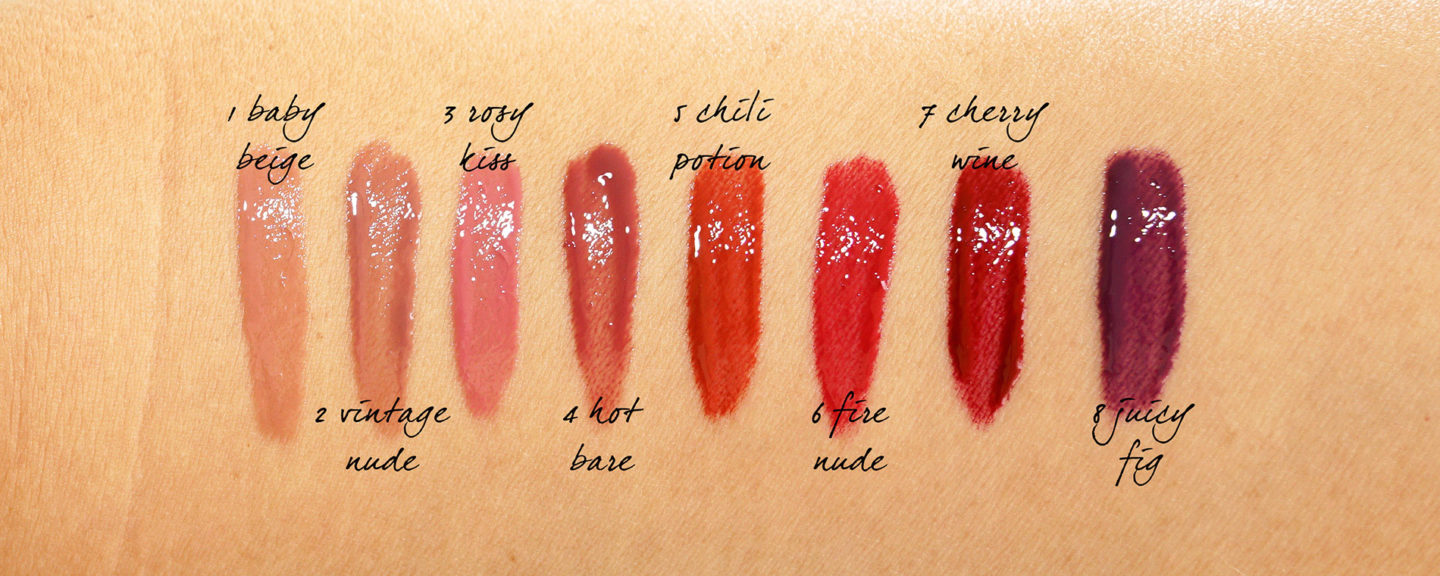 Par Terry Lip Expert Shine Swatches