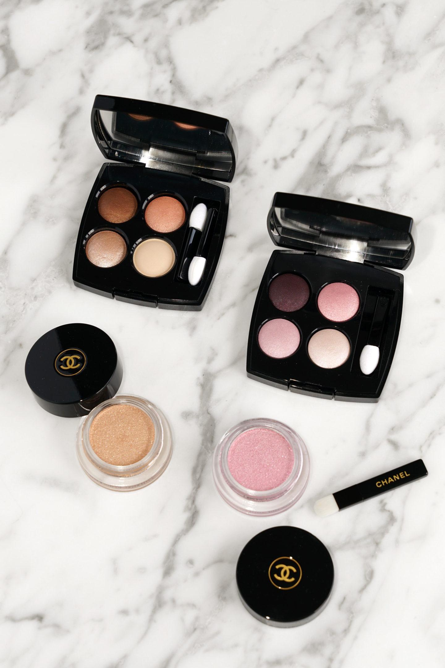 Chanel Pierre de Lumière Les 4 Ombres et Ombre Première Cream Shadows