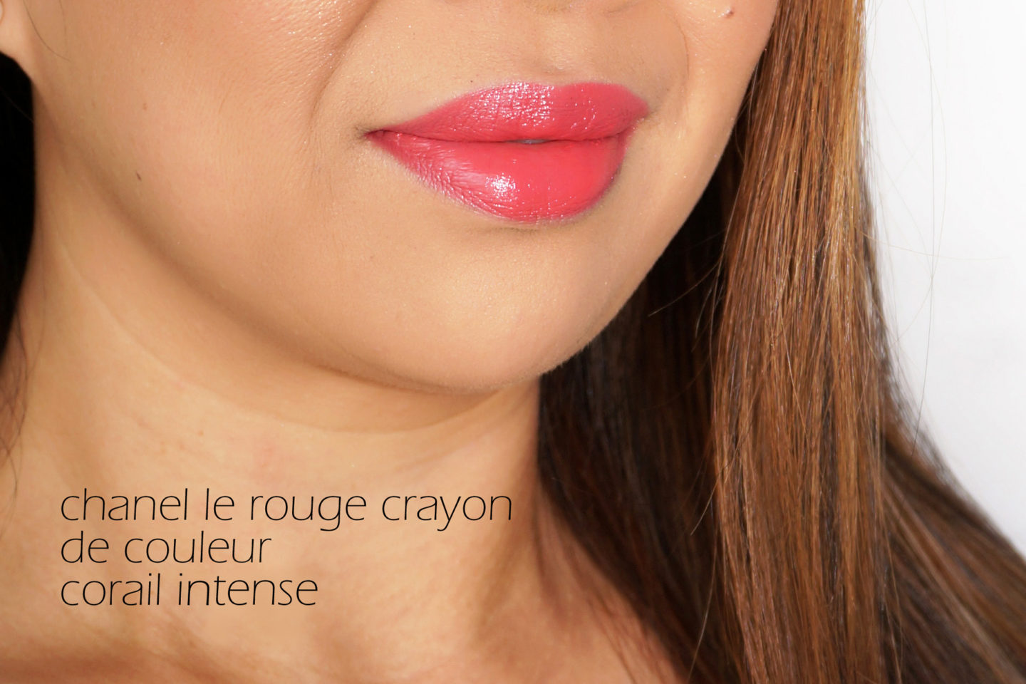 Chanel Le Rouge Crayon Corail Intense swatch