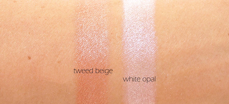 Chanel Les Tissages Tweed Beige et Poudre Lumière in White Opal