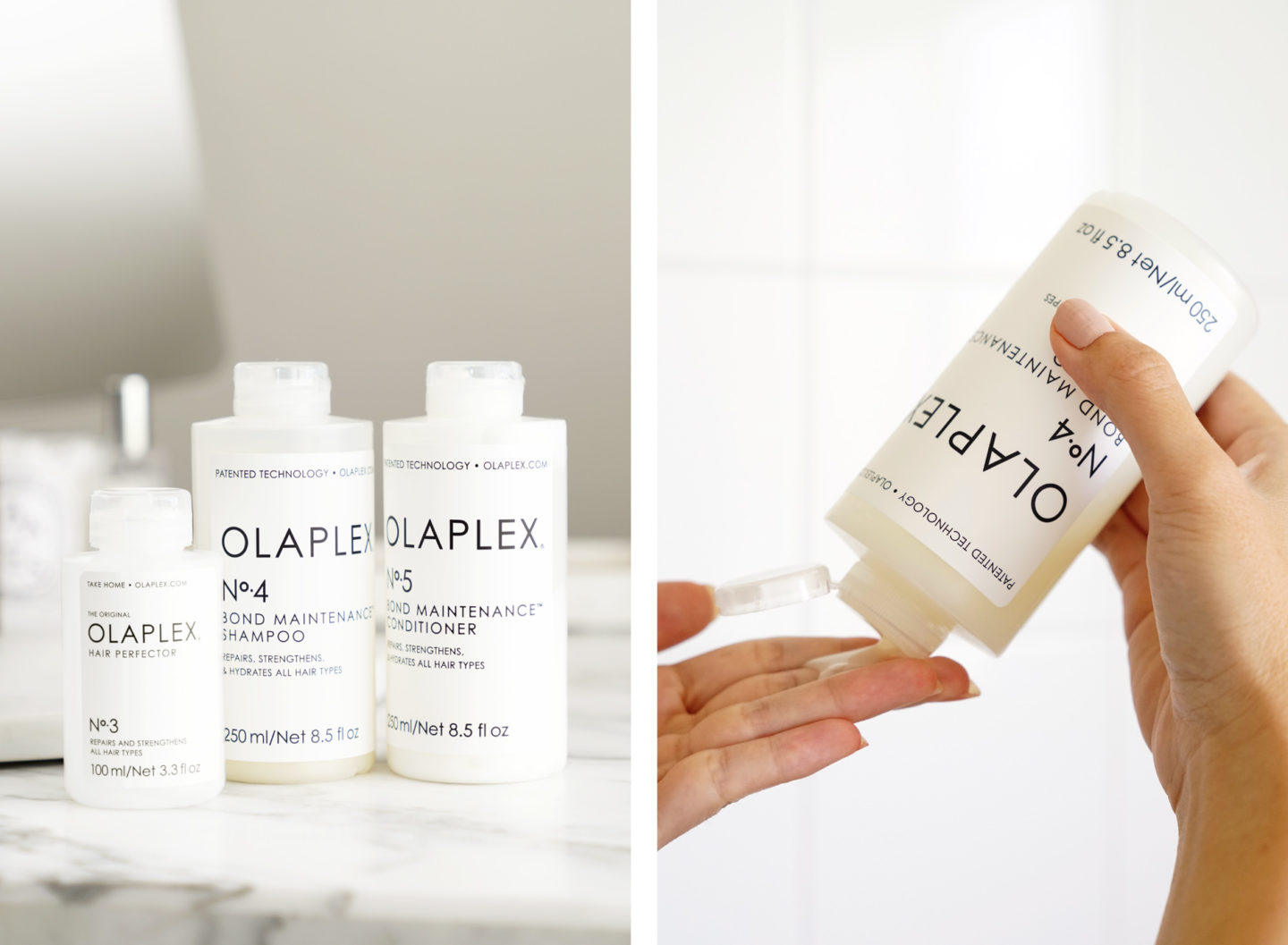 Olaplex Review for Cheveux faibles abîmés