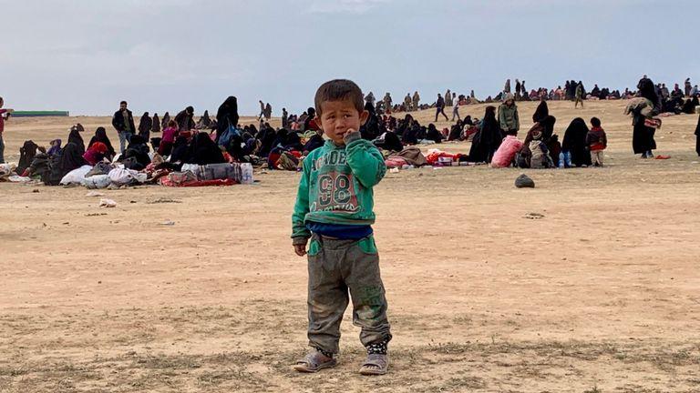 Des milliers de personnes ont quitté Baghouz, en Syrie