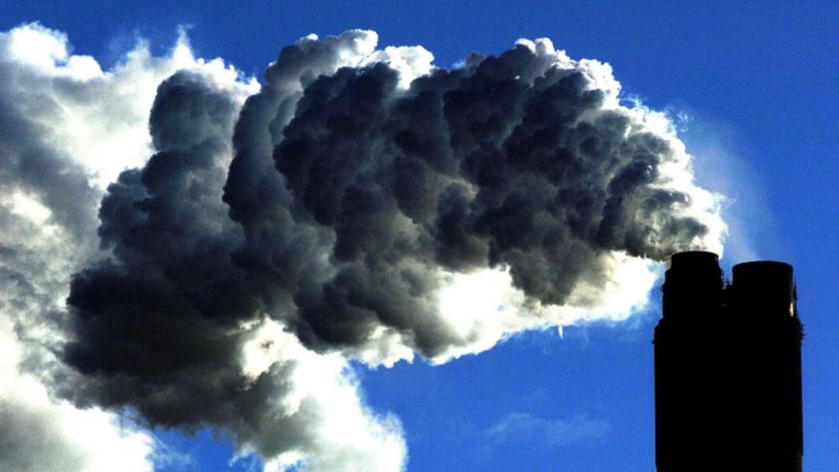 Le Met Office a averti que le dioxyde de carbone dans l'atmosphère augmenterait d'une quantité presque record en 2019