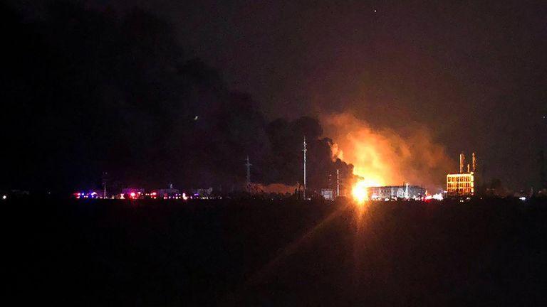 L'explosion a eu lieu à Yancheng, dans la province du Jiangsu, dans l'est de la Chine.