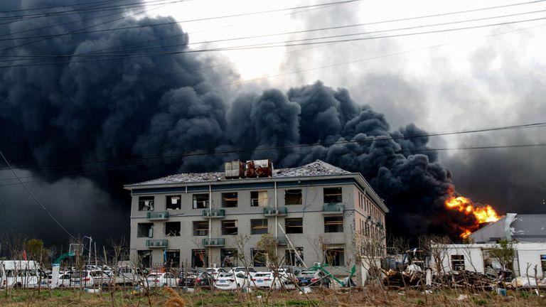 L'explosion est l'un des pires accidents industriels de ces dernières années