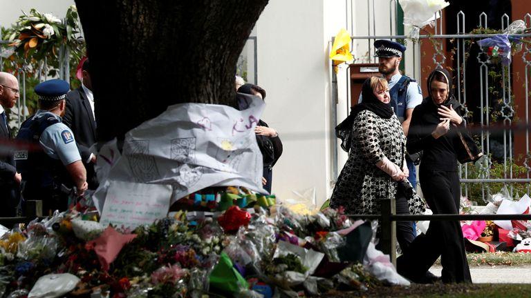 Le Premier ministre néo-zélandais rend hommage à la mosquée Al-Noor à Christchurch
