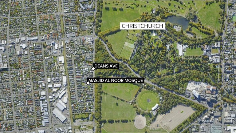 Mosquée Masjid Al Noor, Christchurch