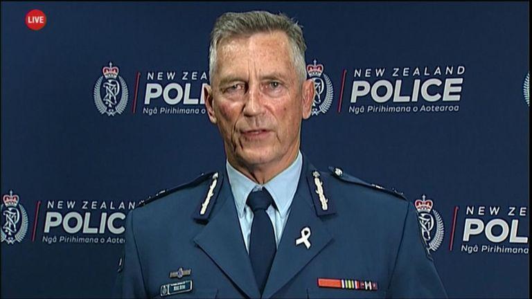 Le commissaire de police Mike Bush fait le point sur la situation actuelle des hommes armés en Nouvelle-Zélande