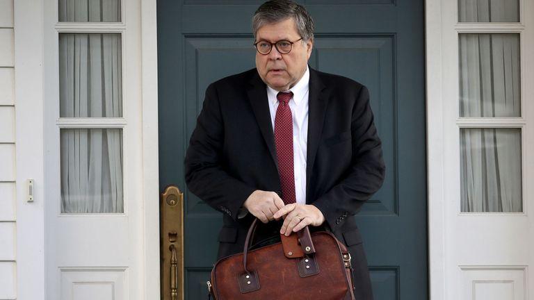 Le procureur général William Barr va maintenant recevoir le rapport