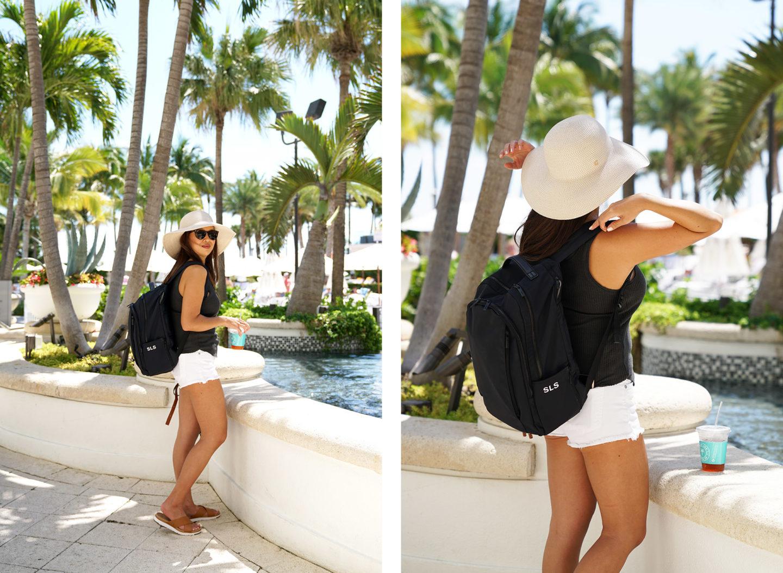 Sac à dos de loisirs à Miami Beach