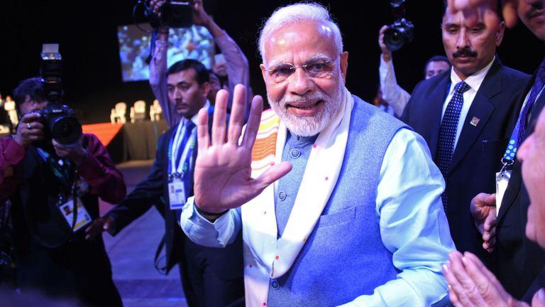 Il est prévu que Narendra Modi sera difficile à battre