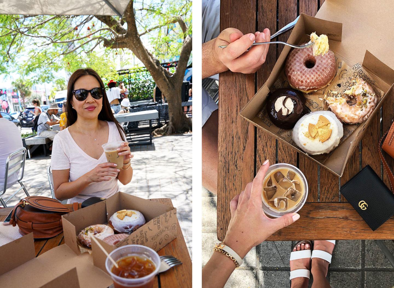 Meilleurs beignets et café Miami Wynwood Le café salé Donut et Panther