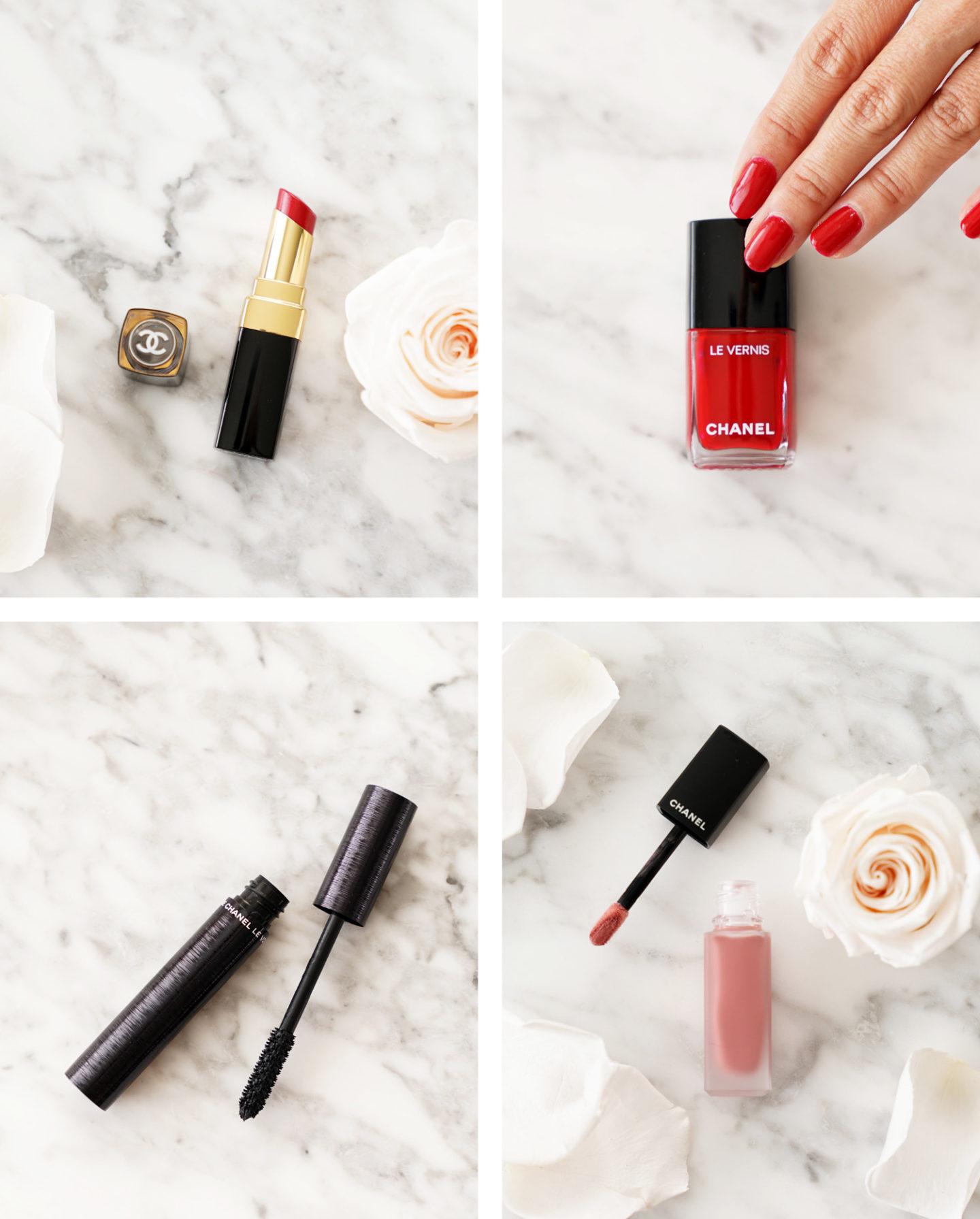 Guide cadeaux maquillage de luxe Fête des mères Rouge Coco Flash Amour, Le Vernis Pirate, Mascara